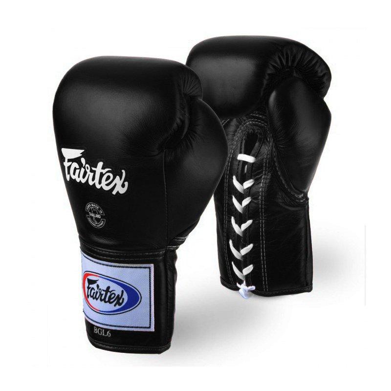 Gants de boxe Fairtex à lacets 10 oz