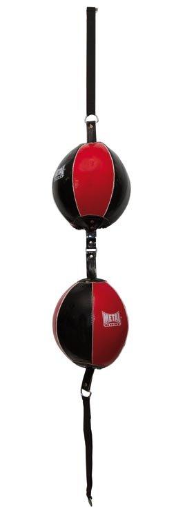 Ballon double élastique Métal boxe
