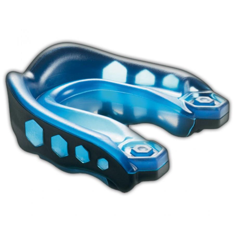Protège dents shock doctor noir et bleu