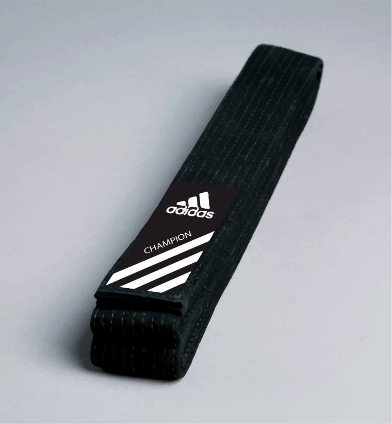 Ceinture noire de Judo Adidas