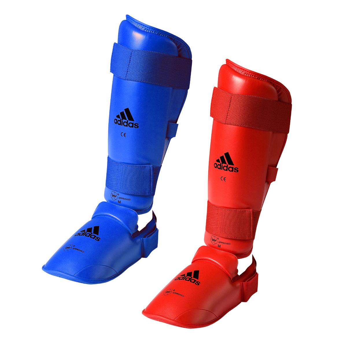 Protège tibias Karaté Adidas amovible