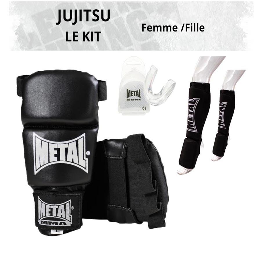 Kit Jujitsu Entraînement Femme ou Fille