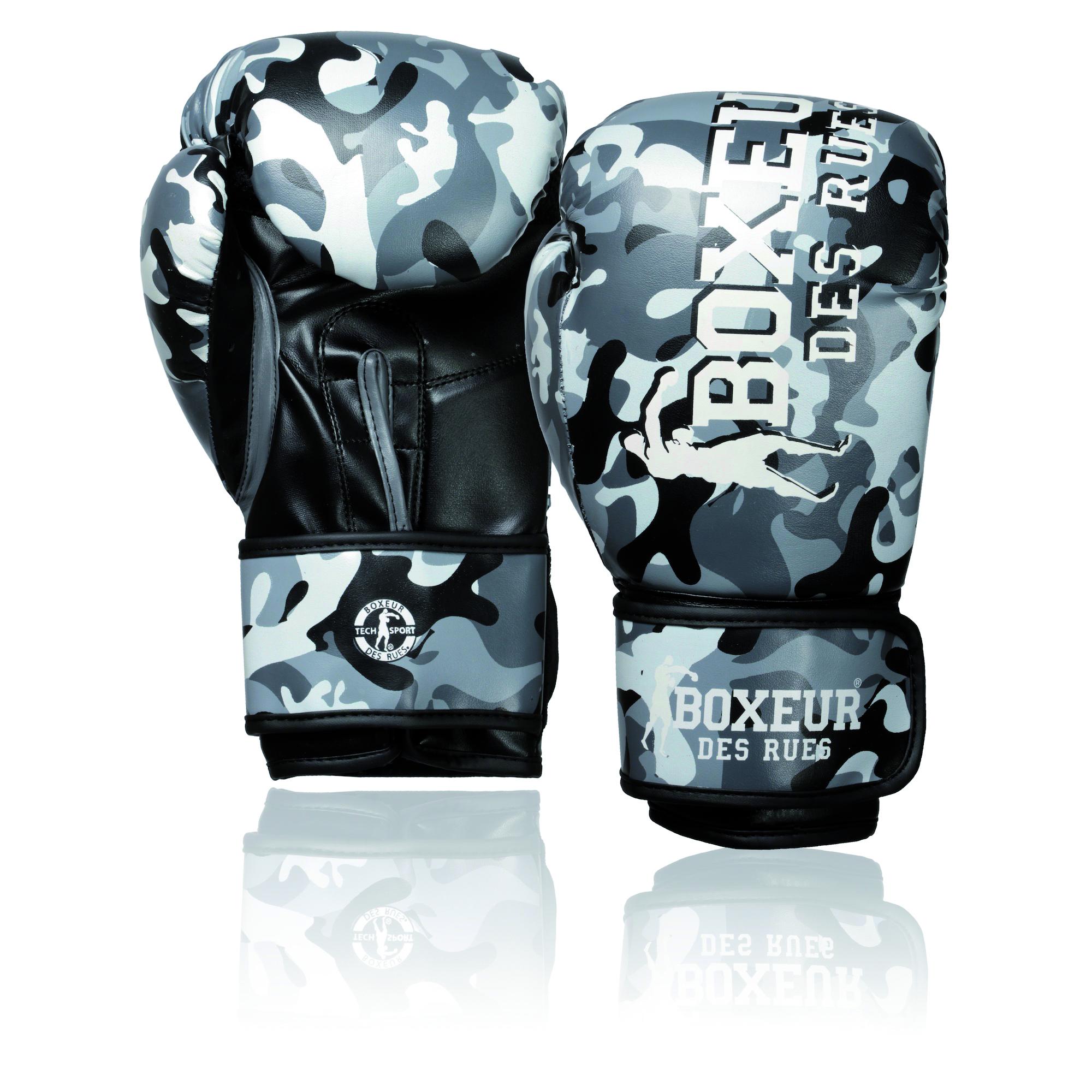 Gants de boxe boxeur des rues Camouflage