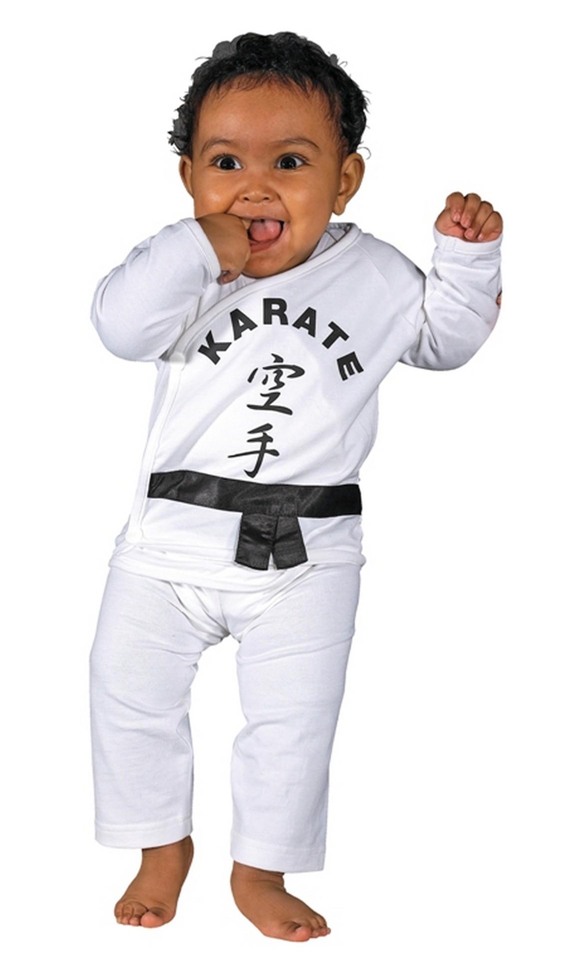 Kimono pour bébé Karaté