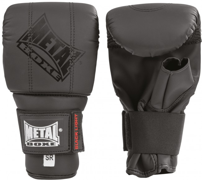 Gants de sac Métal boxe black light