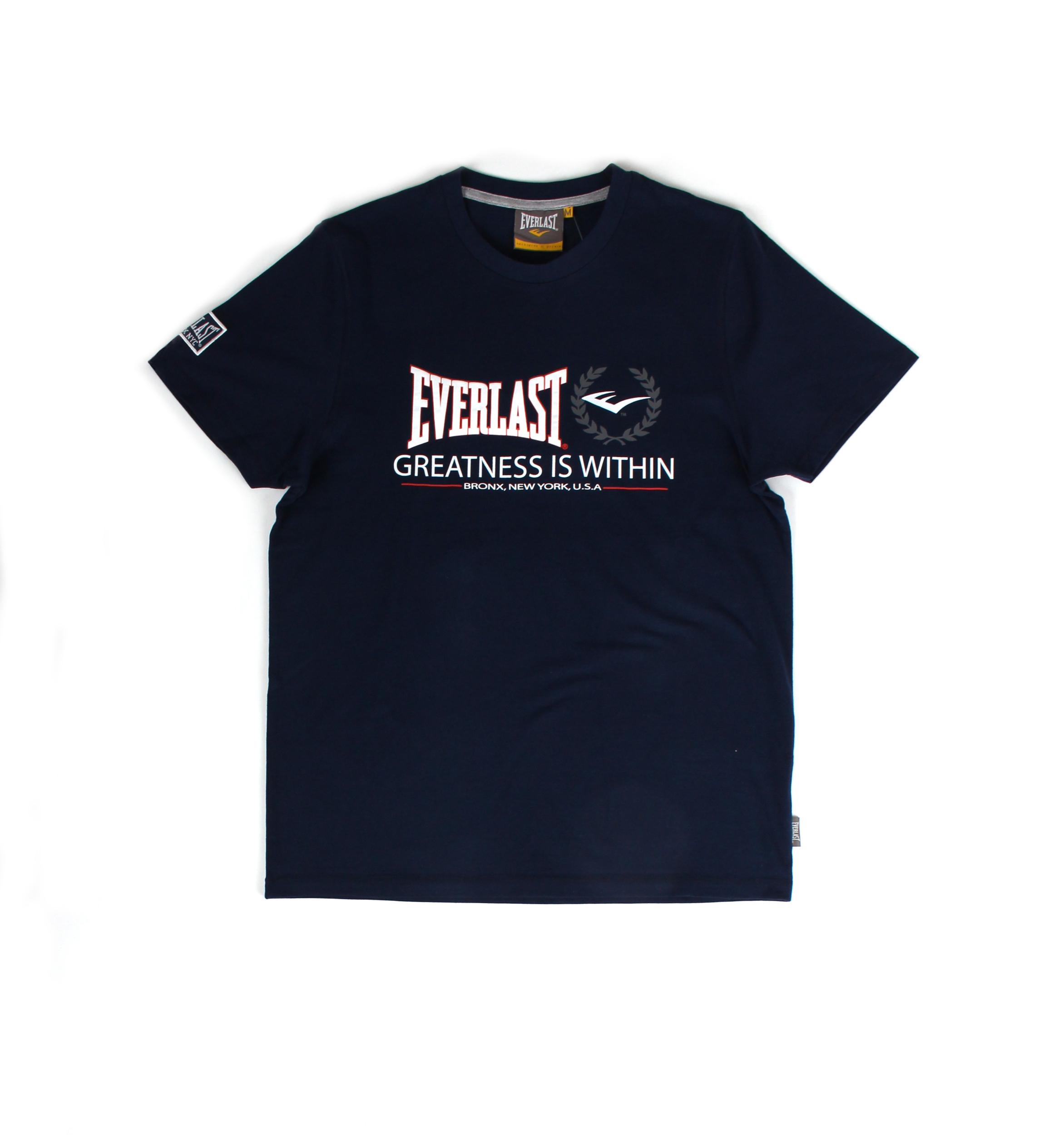 T-shirt Everlast Bleu Marine