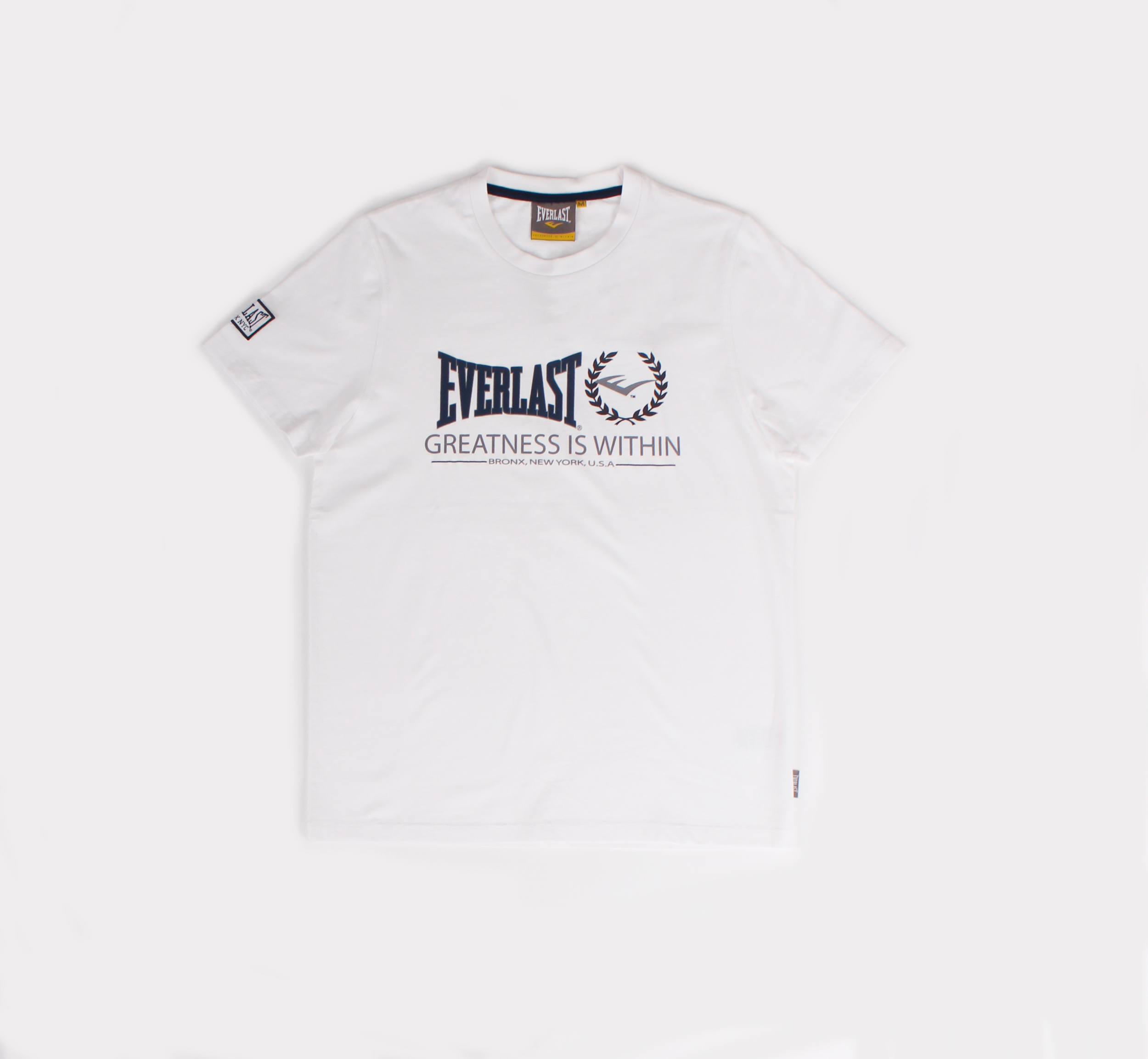 T-shirt Everlast Blanc