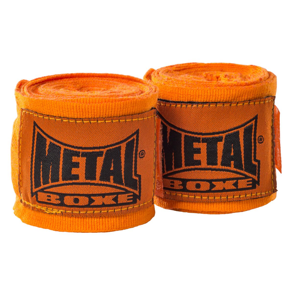 Bande de boxe Métal boxe Orange