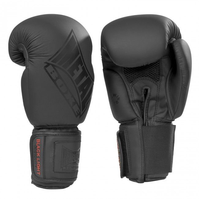 Gants de boxe Métal boxe black light