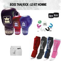 Pack Boxe Thaï Homme