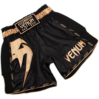 Short de boxe Thaï Venum Giant Noir et doré