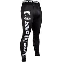 Pantalon de compression Venum Noir et Blanc
