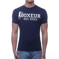 T-shirt boxeur des rues Navy