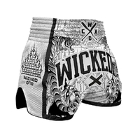 Short Wicked one tiger blanc