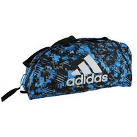 Sac de sport Adidas camouflage bleu