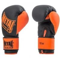 Gants de boxe Iron Noir et Orange