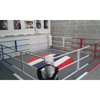 Ring de boxe fixation mural
