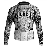 Rashguard manche longue Wicked one tiger