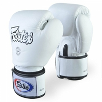 Gants de boxe Fairtex Blanc