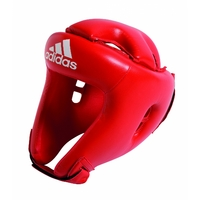 Casque de Boxe Adidas en PU Rouge