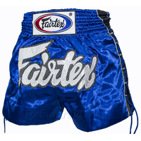 Short à lacets Fairtex Bleu XL