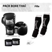 Pack Boxe Thaï Fille (Mitaines)