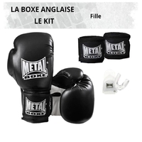 Pack Boxe Anglaise Fille