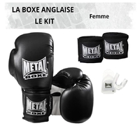Pack Boxe Anglaise Femme