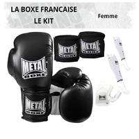 Pack Boxe Française Femme
