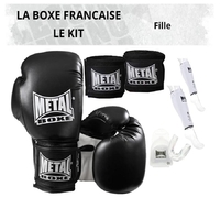 Pack Boxe Française Fille