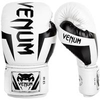 Gants de boxe Venum élite blanc et noir