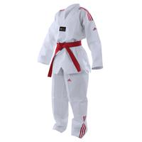 Dobok Taekwondo Adidas bandes rouge