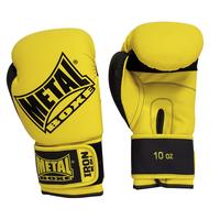 Gants de boxe Métal boxe Iron Jaune et Noir