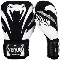 Gants de boxe Venum impact noir et blanc