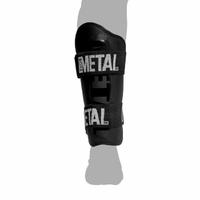 Protège tibias Métal boxe