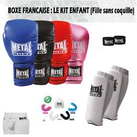 Pack Boxe Française Garçon