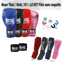 Pack Boxe Thaï Fille