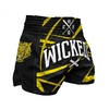 Short Wicked one Claws Noir et Jaune
