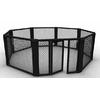 Cage MMA au sol