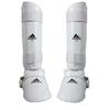 Protege tibias pieds Blanc amovible Adidas