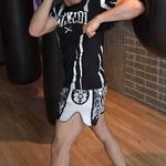 short_boxe_thai_wicked_one_tiger_blanc