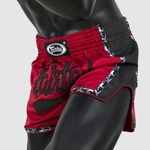 short_boxe_fairtex_rouge_noir