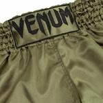 short_muay_thai_venum_classic_vert_kaki