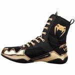 chaussure_de_boxe_anglaise_venum_noir_dore