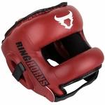 casque-de-boxe-entrainement-avec-barre-rouge