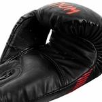 gant-boxe-venum-impact-noir-rouge