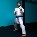 kimono-de-karate-adidas-revoflex-bleu