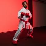 kimono-de-karate-adidas-revoflex-k190-rouge