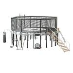 cage-de-mma-avec-station-cross-fit-intégré