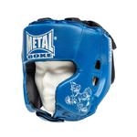 casque-metal-boxe-enfant-bleu